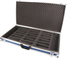 "Кейс для 21 микрофона 12"" inch Microphone Case 21 blue"